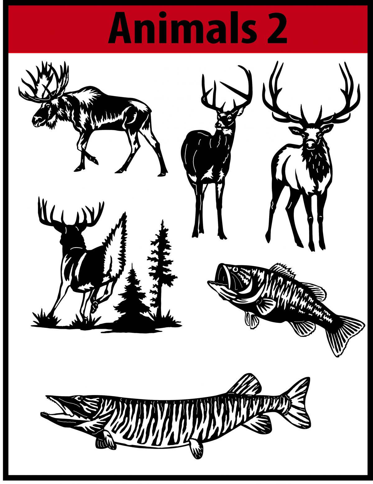 Product categories Animals 2   CNC DXF Files